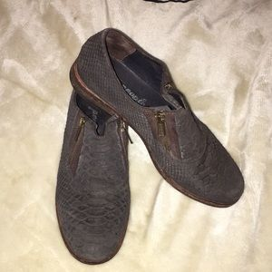 ❤️ Free People Snake Textured Loafer